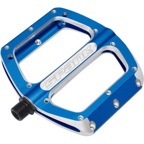 Spank Spoon Pedals M blue/silver